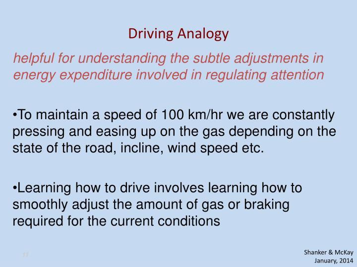 Driving Analogy