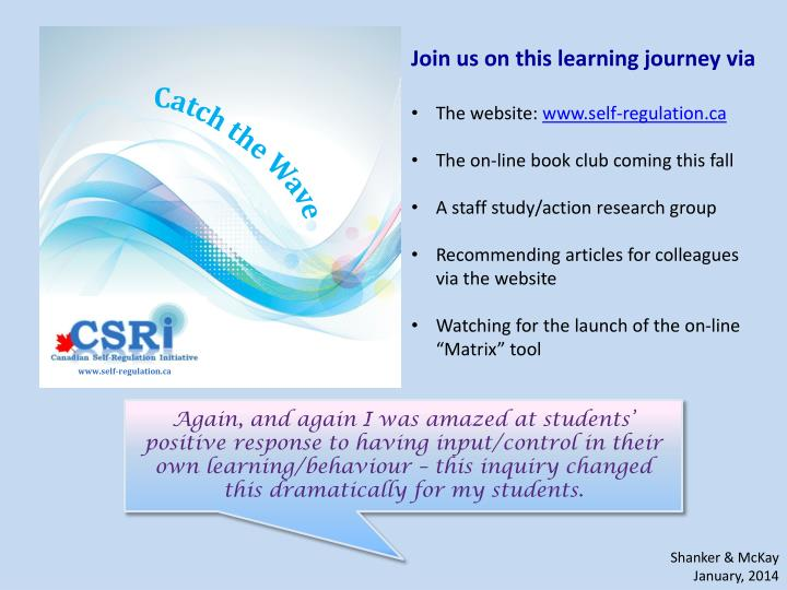 Join us on this learning journey via