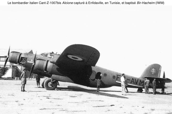 Le bombardier italien Cant-Z-1007bis
