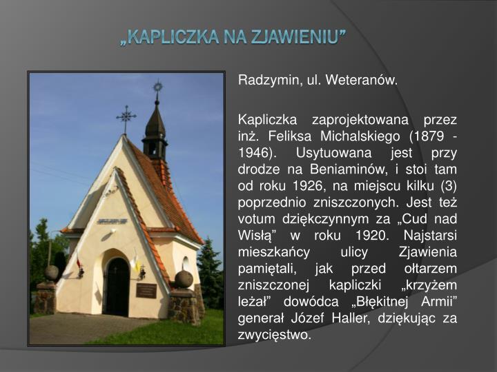 Radzymin, ul. Weteranów.