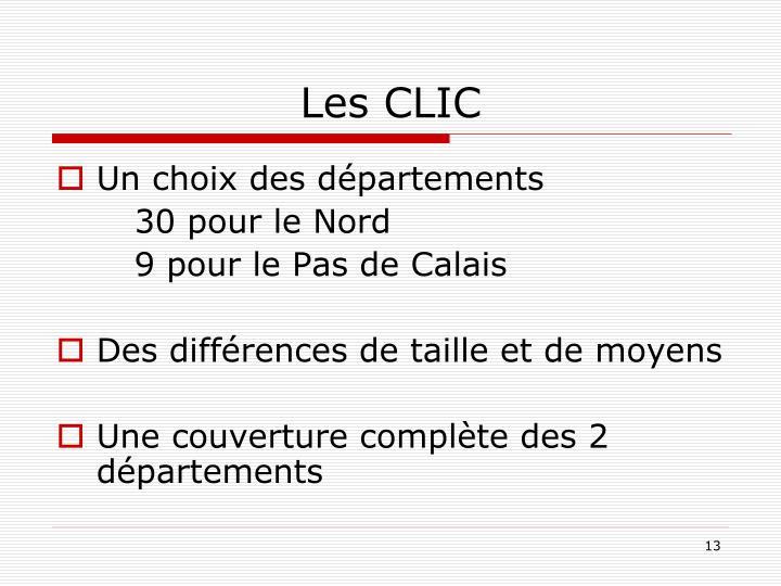 Les CLIC