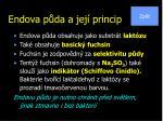 endova p da a jej princip
