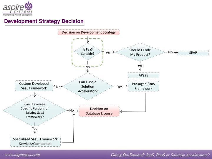 Development Strategy Decision
