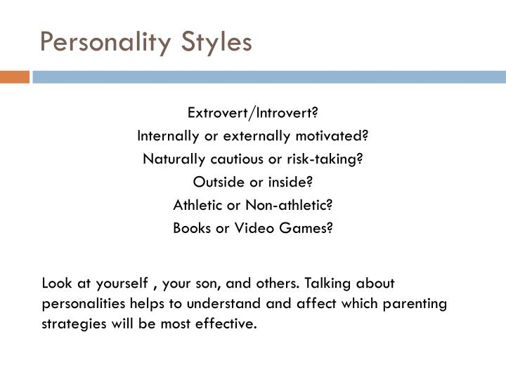 Personality Styles