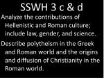 sswh 3 c d