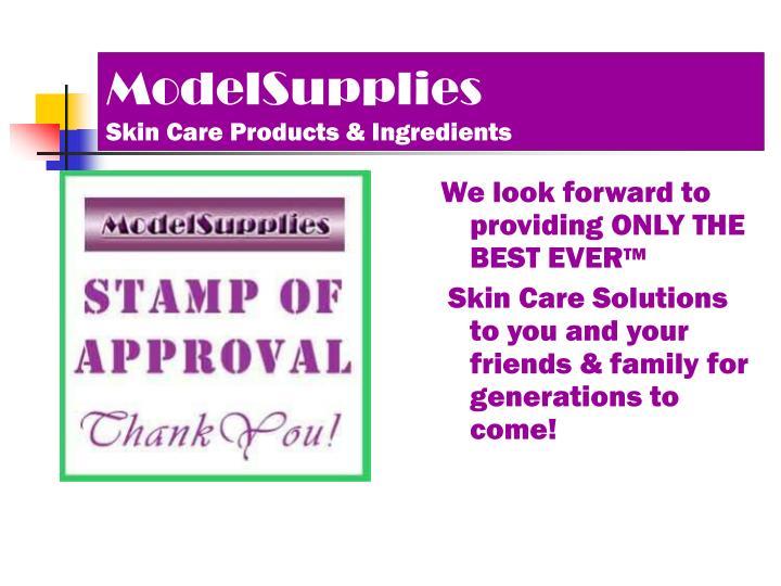ModelSupplies