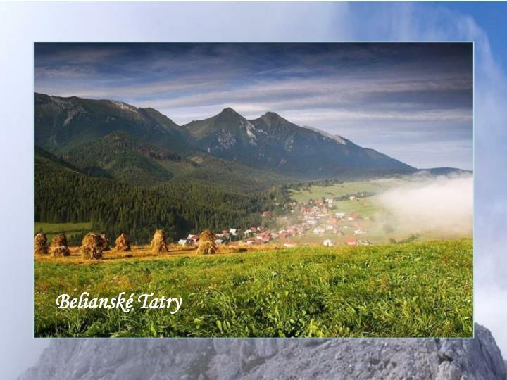 Belianské Tatry