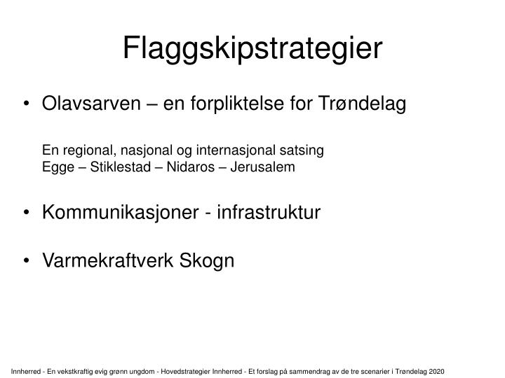 Flaggskipstrategier