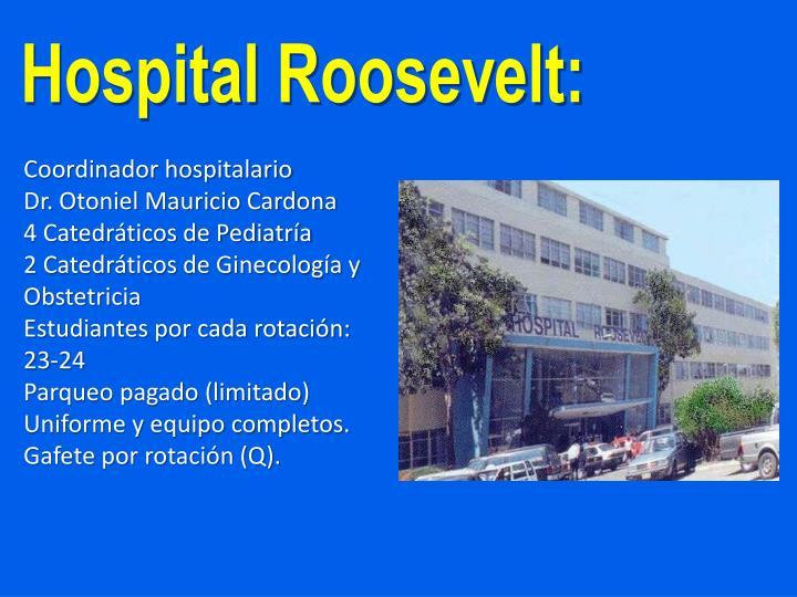Hospital Roosevelt:
