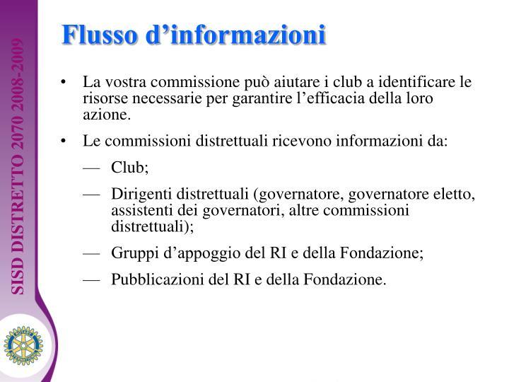 Flusso d'informazioni