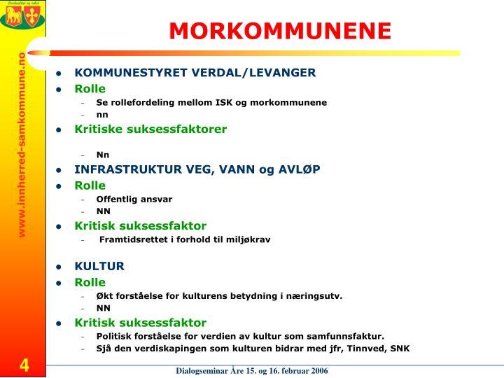 MORKOMMUNENE