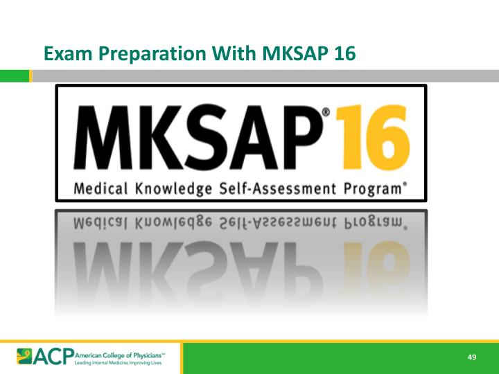 Exam Preparation With MKSAP 16