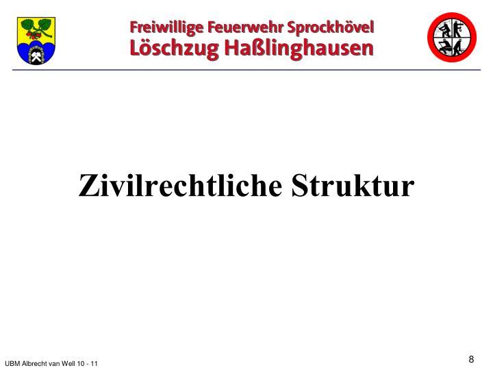 Zivilrechtliche Struktur