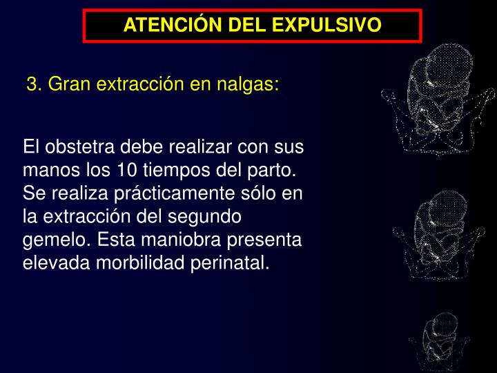 ATENCIÓN DEL EXPULSIVO