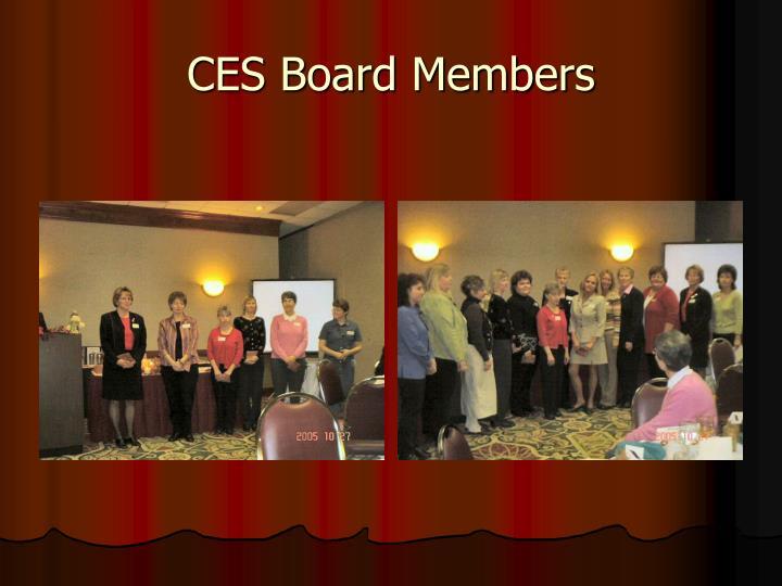 CES Board Members