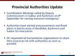 provincial authorities update1