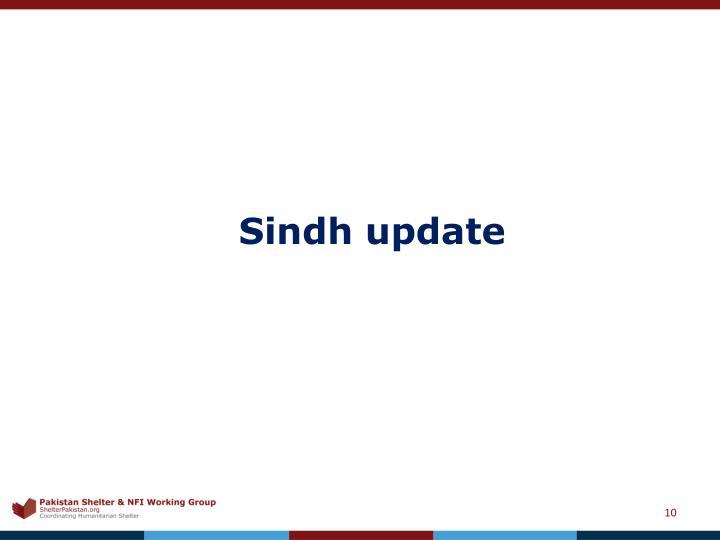 Sindh update