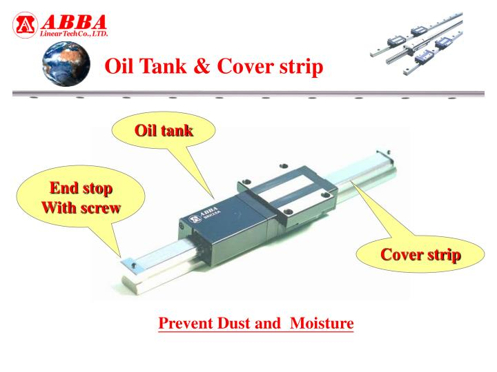 Oil Tank & Cover strip