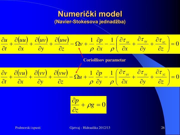 Numerički model