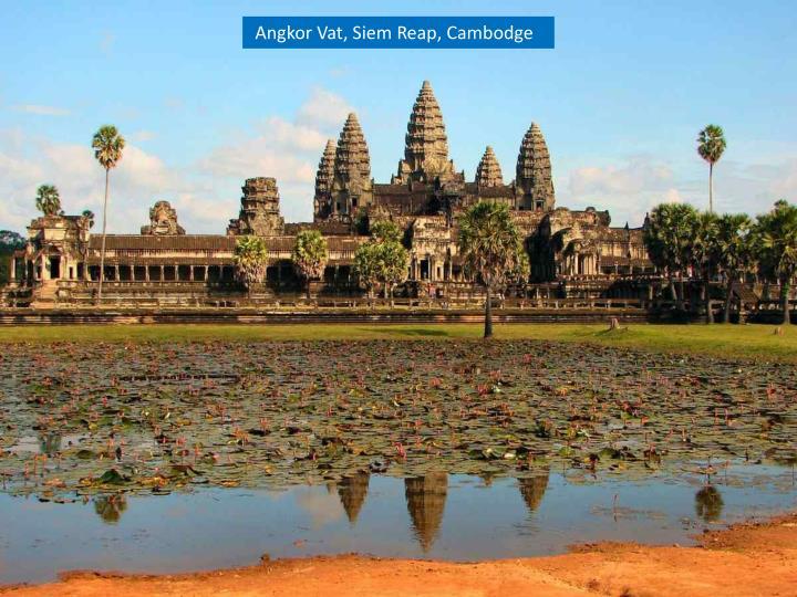 Angkor Vat, Siem Reap, Cambodge