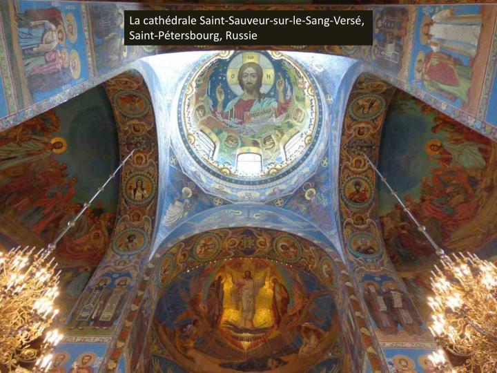 La cathédrale Saint-Sauveur-sur-le-Sang-Versé, Saint-Pétersbourg, Russie