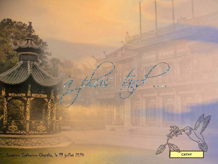 Création Catherine Chantha, le 19 juillet 2014