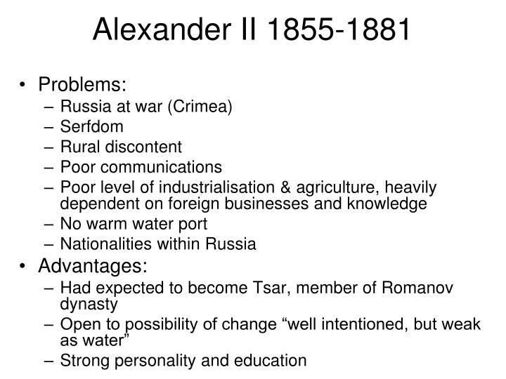 Alexander II 1855-1881