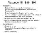alexander iii 1881 1894