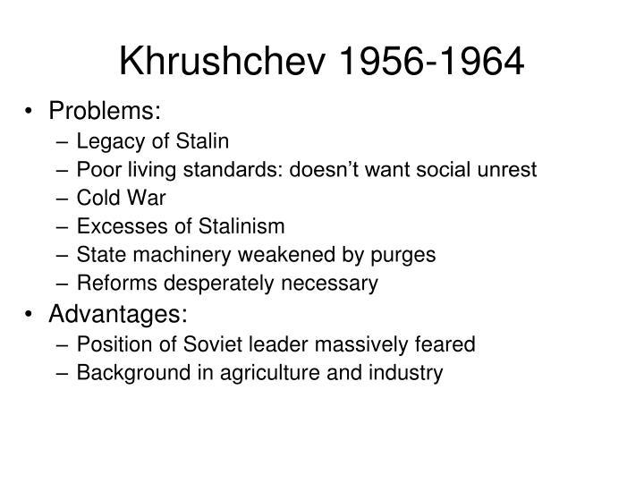 Khrushchev 1956-1964