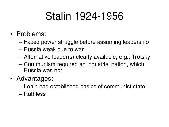 Stalin 1924-1956