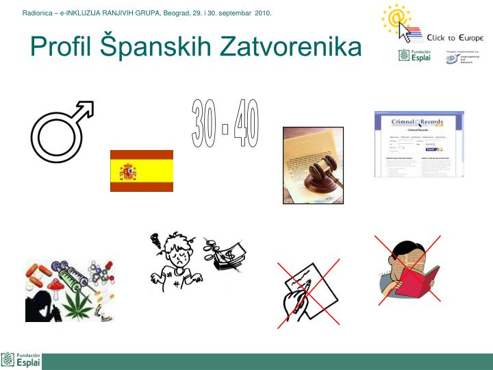 Profil Španskih Zatvorenika