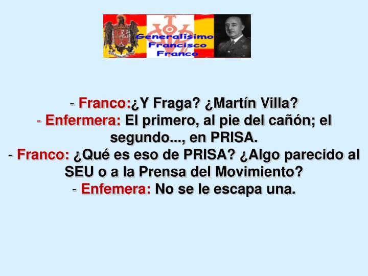 Franco: