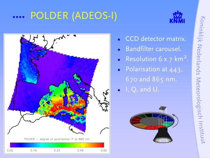POLDER (ADEOS-I)