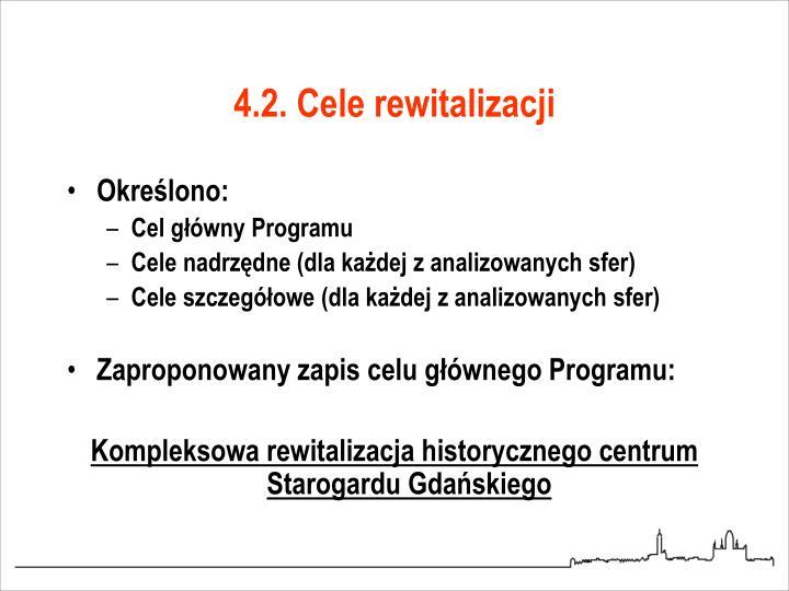 4.2. Cele rewitalizacji