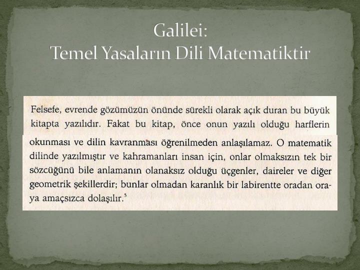 Galilei:
