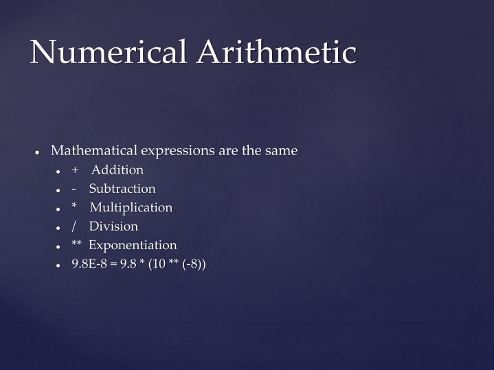 Mathematical expressions are the same