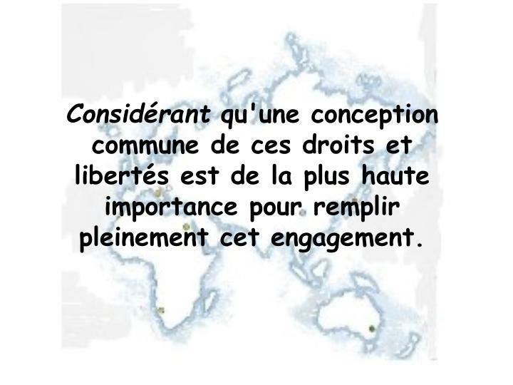 Considrant