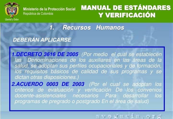 DECRETO 3616 DE 2005