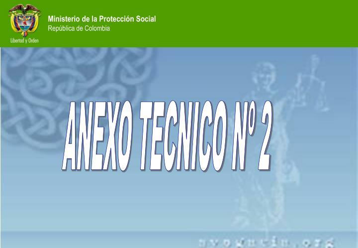 ANEXO TECNICO Nº 2
