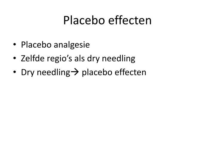 Placebo effecten