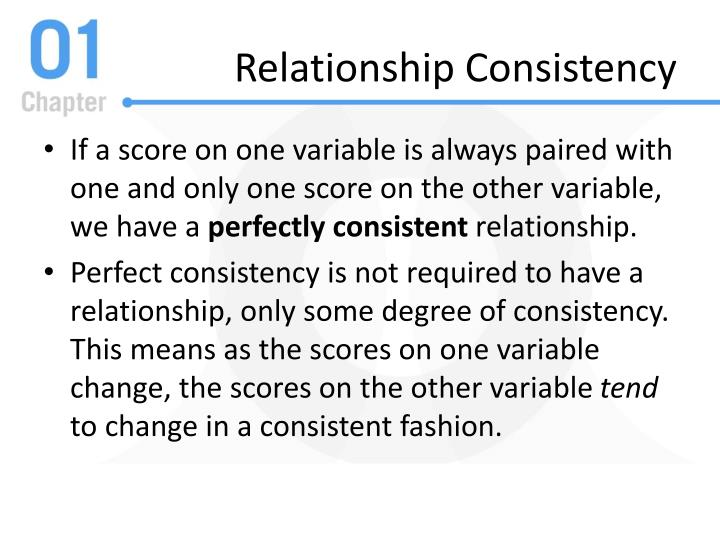 Relationship Consistency