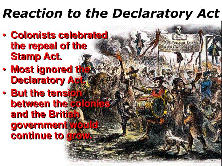 Reaction to the Declaratory Act