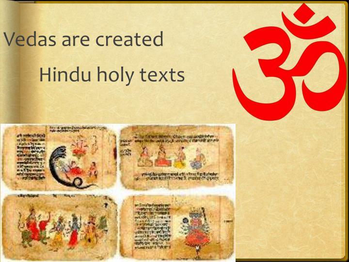Vedas are