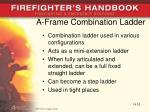 a frame combination ladder