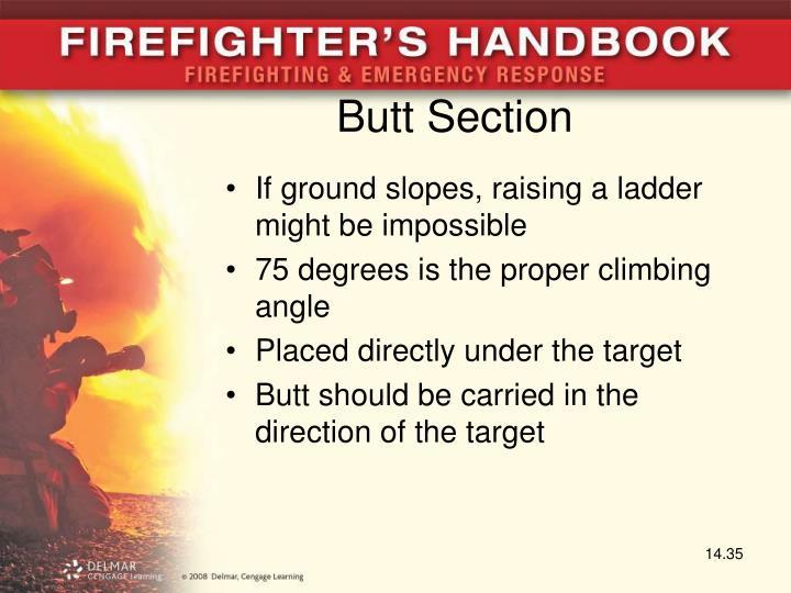 Butt Section