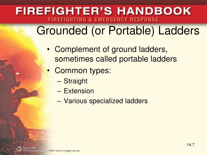 Grounded (or Portable) Ladders