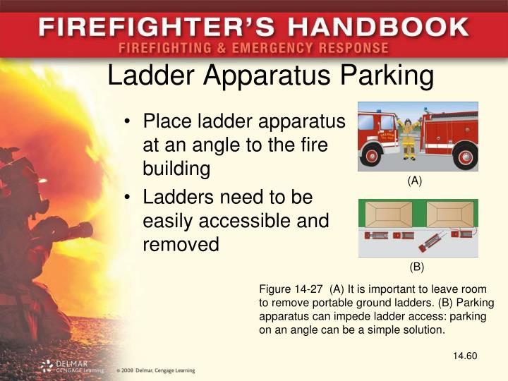 Ladder Apparatus Parking
