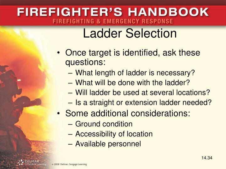 Ladder Selection