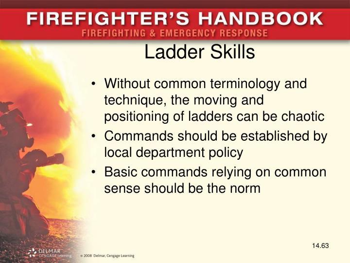 Ladder Skills