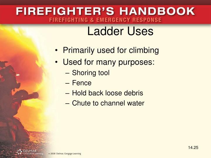 Ladder Uses